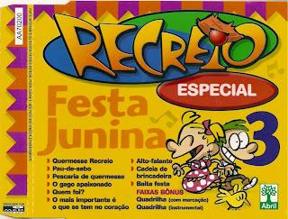 CD Recreio - Festa Junina - Album Vol. 03